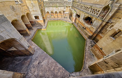 Roman Baths (abtabt) Tags: unitedkingdom uk england bath georgianarchitecture architecture museum romanbaths d700sigma1224 water worldheritage
