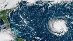 """""""Worst Storm In US History"""" Florence Set To Break All-Time Records; Forecasters Fear Harvey Flood Redux (smctweeter) Tags: afternoon computer forecasts from have latest predicted that the tuesday"""