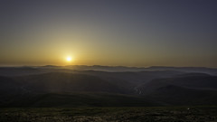 Sunset over the Cairngorms (Scotland's Mountains) Tags: wild camp glenshee scotlands mountains scotland sunset tent cairngorms hillwalking hiking backpacking scarp 1