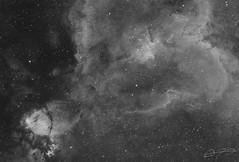 Heart Nebula - Ha (Alejandro Pertuz) Tags: space cosmos astrophotography astronomy universe heart nebula