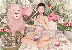 The Lonely Hearts Club (Gabriella Marshdevil ~ Trying to catch up!) Tags: sl secondlife cute kawaii doll pastel blackbantam aulovely arcade sintiklia luas catwa mudskin gacha