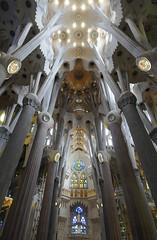 La Sagrada Familia. BARCELONA. CATALUNYA. SPAIN. (MARIANO GARCIA MONZON) Tags: nikond300 cubism