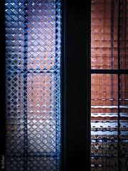 Penumbra (Kal BT) Tags: indoor interior penumbra gloom light luz shadow shadows sombra sombras dark oscuro darkness oscuridad frame marco window ventana door puerta glass cristal pattern patrón geometry geometría geometric geométrico surface superficie texture textures textura texturas