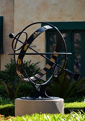 Can You Relate to Your Sign? (Little Hand Images) Tags: astrolabe zodiac birthsigns wroughtiron sunny lightplay universalstudiosflorida armillary sphere