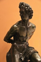 Captif # 5 (just.Luc) Tags: louvre bronze brons metal metaal captif gevangene prisonier sculpture escultura statue estatua statua beeld beeldhouwwerk man male homme hombre uomo mann nu nude nudo desnudo naakt nackt naked nipples tepels bellybutton navel nombril bound shackled gebonden museum museo musée parijs parigi paris îledefrance france frankrijk frankreich francia frança art kunst publiek public oranje orange