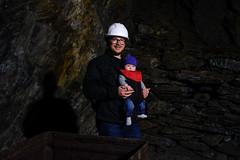 Tim and Molly (timnutt) Tags: molly cavern mine baby 35f2wr 35mm holiday xt2 llyn child lleyn fuji slate family wales children fujifilm people