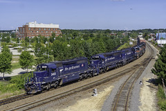 WAPO at Portland (Thomas Coulombe) Tags: panamrailways panam sd402 sd402m freighttrain train wapo portland maine yard8