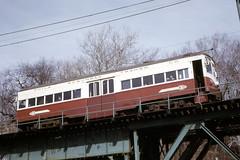 US PA Philadelphia SEPTA-PSTC Red Arrow 73 4-1972 (David Pirmann) Tags: pa pennsylvania philadelphia septa redarrow pstc philadelphiasuburbantransco interurban train trolley tram transit railroad