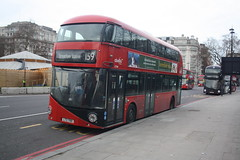 Waiting Time..... (lazy south's travels) Tags: london england english britain british uk europe european borismaster wright tfl transportforlondon londontransport ltz1769 abellio lt769 group