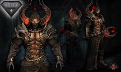Battle Mage NYRAMYTH AESTHETIC (Topa Adamski) Tags: secondlife mage medieval sorcer knight aesthetic niramyth armor fantasy