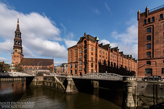 Speicherstadt (nolte.photo) Tags: hamburg germany warehouse church fleet speicherstadt