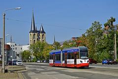 Leoliner NGTW6-H #4 HVG Halberstadt (3x105Na) Tags: leoliner ngtw6h 4 hvg halberstadt strassenbahn strasenbahn tram tramwaj deutschland germany niemcy