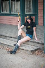 Brunette Cowgirl Model Blue Eyes Cowboy Boots! Long Legs Short Shorts Daisy Dukes Cutoffs Jeans Shorts! The Birth of Venus! dx4/dt=ic! Pretty Woman Portraiture!  Nikon D800 & Sexy Sharp AF-S NIKKOR 70-200mm F2.8 G ED VR2 Nikon Model Portrait Girls & Guns! (45SURF Hero's Odyssey Mythology Landscapes & Godde) Tags: colt 45 revolver model goddess beautiful cowgirl cowboy boots long legs short shorts daisy dukes cutoffs jeans the birth venus dx4dtic pretty woman portraiture nikon d800 sexy sharp afs nikkor 70200mm f28 g ed vr2 portrait photography