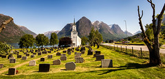 Cinematic Norway (zilverbat.) Tags: noorwegen norwegian norge norway norwic europe bild europa zilverbat landscape church cinematic outdoor road trip tripadvisor visit travel trees mountains tour map landschap graveyard grave ngc print pin fjords fjord