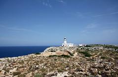 Il faro di Cap Cavalleria - Cap Cavalleria lighthouse (Roberto Marinoni) Tags: faro lighthouse minorca menorca baleari isolebaleari balearicislands maremediterraneo mediterraneansea