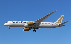 A9C-FB Boeing 787-9 Dreamliner Gulf Air (R.K.C. Photography) Tags: a9cfb boeing 7879 b787 dreamliner gulfair gf gfa bahrain aircraft airliners airliner aviation london heathrow unitedkingdom uk londonheathrowairport lhr egll canoneos100d