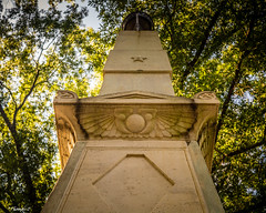 The Monument (that_damn_duck) Tags: universityofsouthcarolina usc monument statue trees sunlight nikon