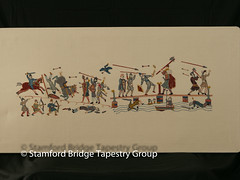 Panel 7 (Stamford Bridge Tapestry Project) Tags: tapestry stamfordbridge battleofstamfordbridge 1066 embroidery