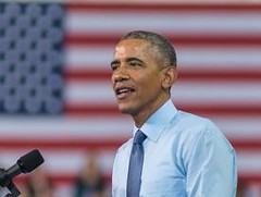 Only 38% Welcome Obama Back on the Campaign Trail (smctweeter) Tags: boost campaign candidates democrats former obamas presence president think trail