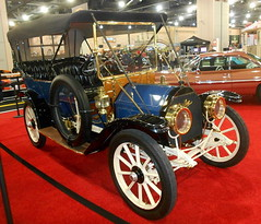 1912 Cadillac Model 30 Touring (splattergraphics) Tags: 1912 cadillac model30 touring carshow philadelphiaautoshow pennsylvaniaconventioncenter philadelphiapa