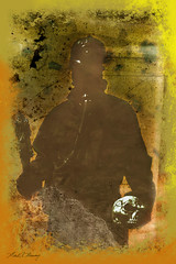 Post Apocalypse (MAMowery) Tags: grunge flames apocalypse skull