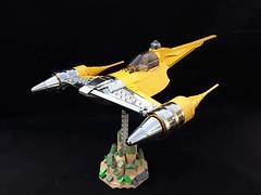 Naboo N1 Starfighter (tomvanhaelen) Tags: lego starwars naboo n1 starfighter custom moc theed inthert