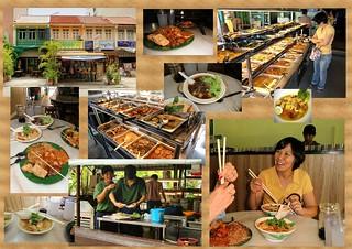 Evergreen collage - 长青素食馆