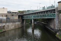 Bath (thulobaba) Tags: bath uk tourist tourism spa bridge rail railway steel girder pier staion terminus england river