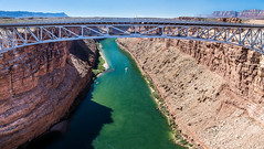 IMG_4061-HDR-Pano (Greg Meyer MD(H)) Tags: navajo bridge span gorge southwest arizona coloradoriver green