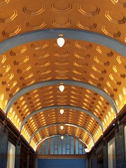 Shopping arcade roof - Leipzig old town (TeaMeister) Tags: europe train rail seat61 interrail germany leipzig deutschebahn railwaystation bach eastgermany ddr europeanunion eu brexit goethe faust architecture