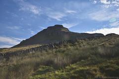 Pen-y-ghent (Bri_J) Tags: yorkshirethreepeaks walk yorkshiredales nationalpark northyorkshire uk yorkshire threepeaks countryside nikon d7200 penyghent hill sky clouds