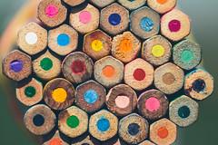 MacroMondays#Multicolor (Inka56) Tags: multicolor macromondays crayons colorfulcrayons smileonsaturday multicolora looking close fridaymulticoloured lookingcloseonfriday multicoloured