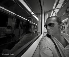 Metro (ioriogiovanni10) Tags: jovyx74 eyes persol seguimi hero6 homme face rayban roma metropolitana riflessi specchio viaggio trip gopro fotografo