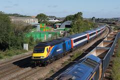 43484 24-08-18 (IanL2) Tags: eastmidlandstrains hst intercity125 43484 wellingborough mml northamptonshire trains railways
