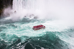 Sacrifice to the Falls (alexanderer_) Tags: spectacular roughwater water boat hornblower maidofthemist mist canada ontario niagara niagarafalls waterfall