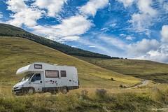 ...al centro dei Sibillini... (rovampera) Tags: camper sosta natura montagna luce bellezza