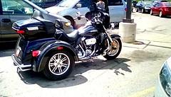 Motor Tri - cycle! (Maenette1) Tags: motortricycle black parkinglot mmplaza menominee uppermichigan flicker365 allthingsmichigan absolutemichigan projectmichigan
