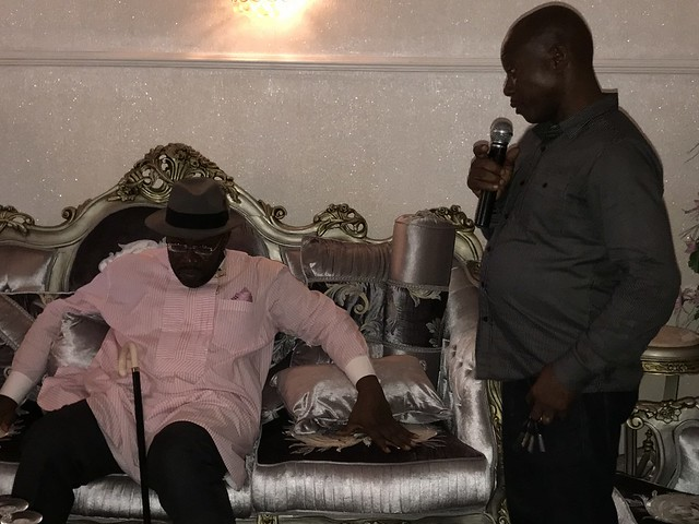 HSDickson- Condolence visit By Opuere Ogbotiti Clan to His Excellency.22nd August 2018
