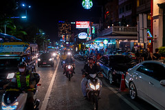 Beach road at Night, Pattaya, Thailand (CamelKW) Tags: thailand2018 beachroad night pattaya thailand
