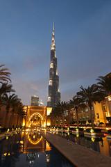 Burj Khalifa (Dubai) (rogelio g arcangel) Tags: dubai uae unitedarabemirates burjkhalifa soukalbahar middleeast westernasia asia asiatravel travel summer2017 canon canonphotography architecture skyscraper bluehour