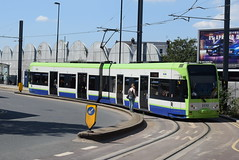 CT 2532 @ West Croydon bus station (ianjpoole) Tags: croydon tramlink bombardier cr4000 2532 working service from west beckenham junction