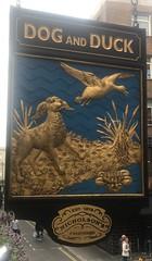 1809 London (04) (ian262) Tags: dogandduck london pubsigns signs soho
