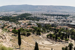 Theater of Dionyssa (Maciej Dusiciel) Tags: greece athens architecture architectural ancient city urban travel europe world sony alpha theater acropolis panorama cityscape