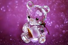 Ourson avec son pot de miel cristallisé (Christian Chene Tahiti) Tags: canon 6d paea tahiti ourson litllebear bear bokeh glass cristal bleu rose pink