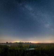 Waiting for a sign (andreasmally) Tags: milkyway stars hahnenmoor bog moor night sky