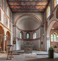 St-Lucius-in-Werden (2) (ulrichcziollek) Tags: nordrheinwestfalen essen werden frühromanisch romanik romanisch kirche kirchenschiff