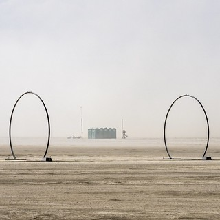 no greater love than that kindled at Burning Man, by the portapotties, in a dust storm
