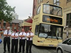 East Yorkshire 886 PL51LDJ Gandhi Way, Hull attending Big Bus Day 2018 (4) (1280x960) (dearingbuspix) Tags: eyms eastyorkshire 886 pl51ldj goahead bigbusday opentopper bigbusday2018