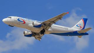 TLV - Ural Airlines Airbus 320 VQ-BDM