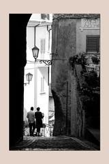 reading around the town (sandrorotonaria) Tags: falvaterra ciociaria walking reading